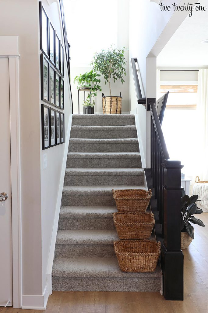 stairway with landing