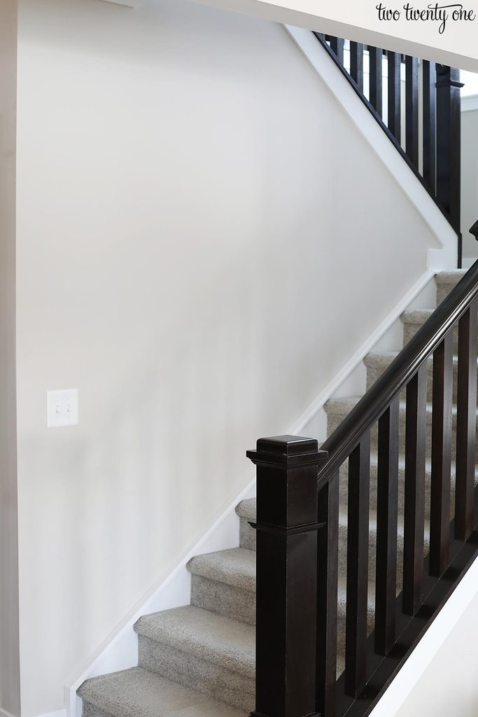 empty staircase wall