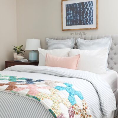 Guest Bedroom Spring Refresh