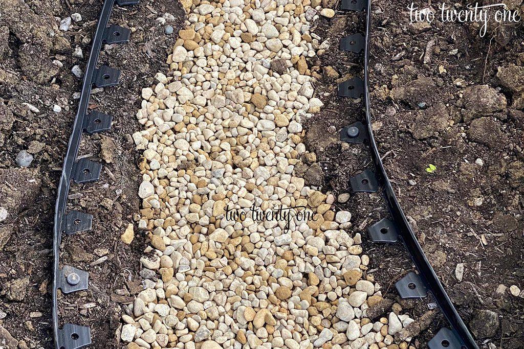 dry creek bed gravel