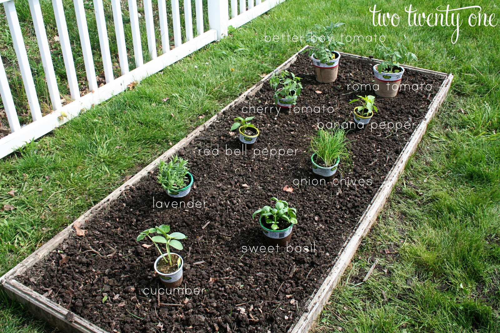 how to put away garden bed