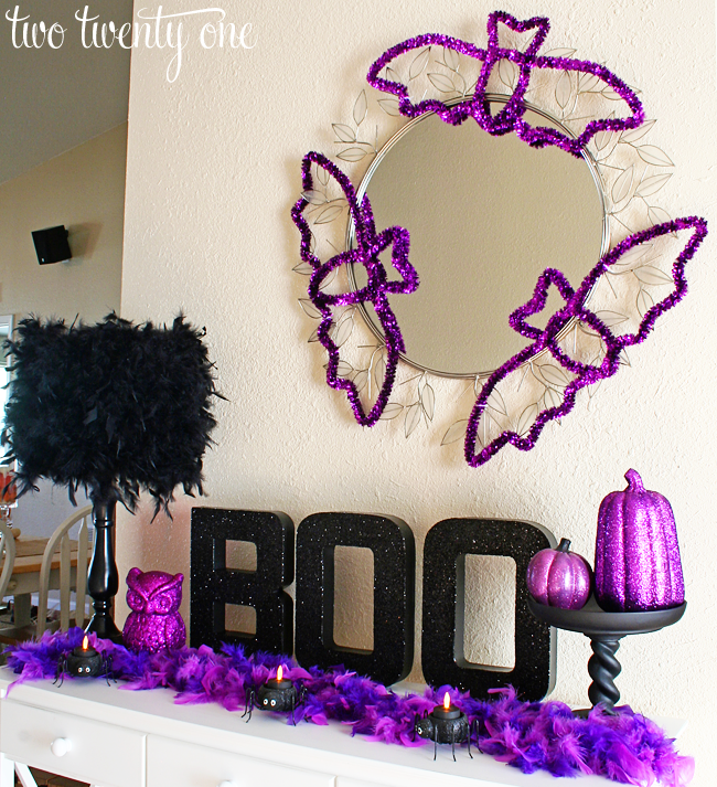 Halloween Vignette Halloween Decorating
