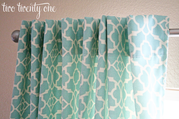 Curtains Ideas curtains double width : How to Make Curtains {DIY} - Two Twenty One