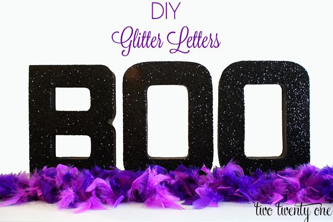 Diy glitter letters mod podge for Glitter cardboard letters