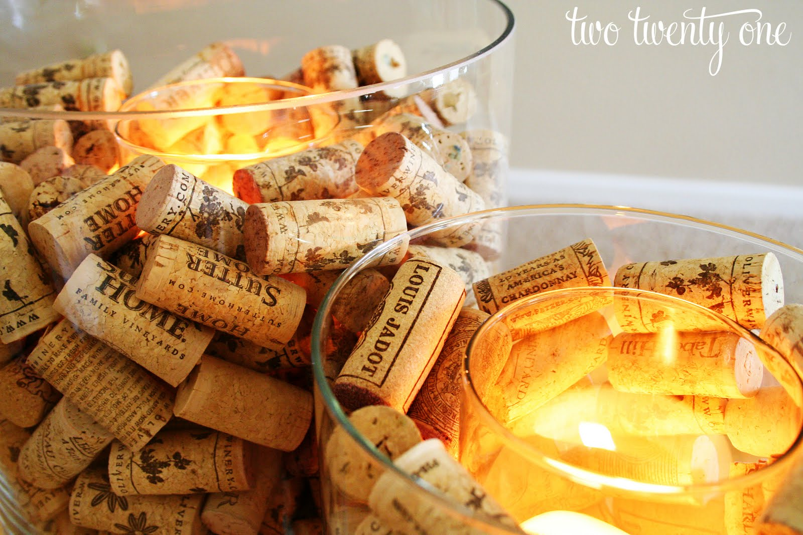 Wine Cork Candle Holder - Two Twenty One