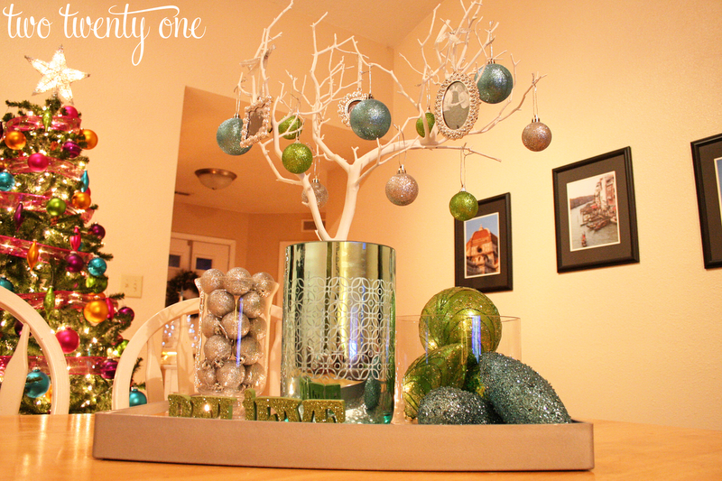 christmas decor part three centerpiece vignette
