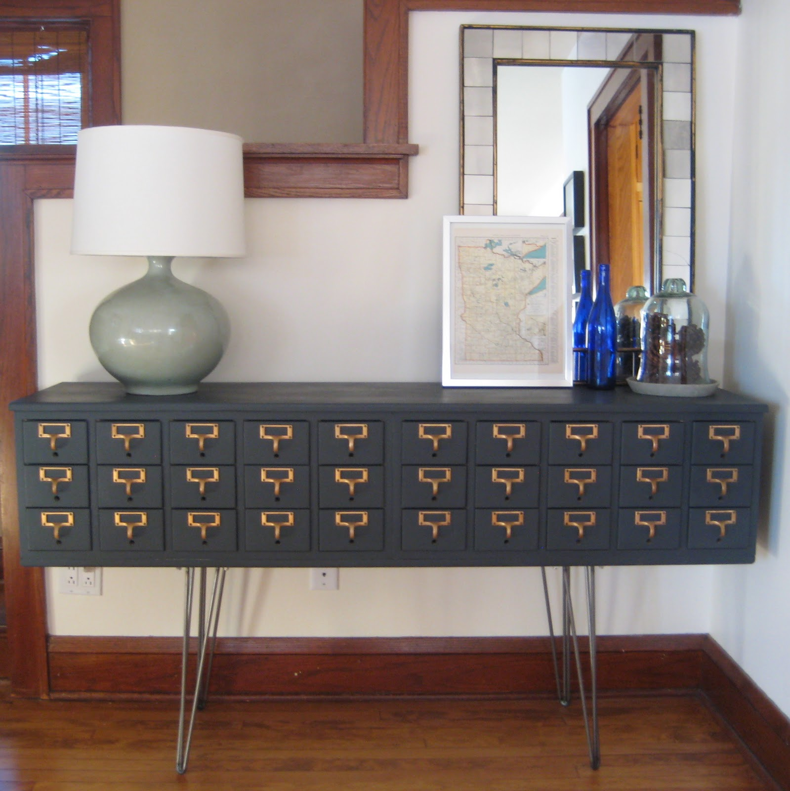 8 Repurposed Card Catalogs