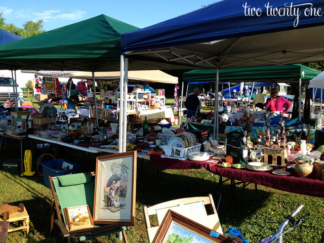 Historic National Road Yard Sale