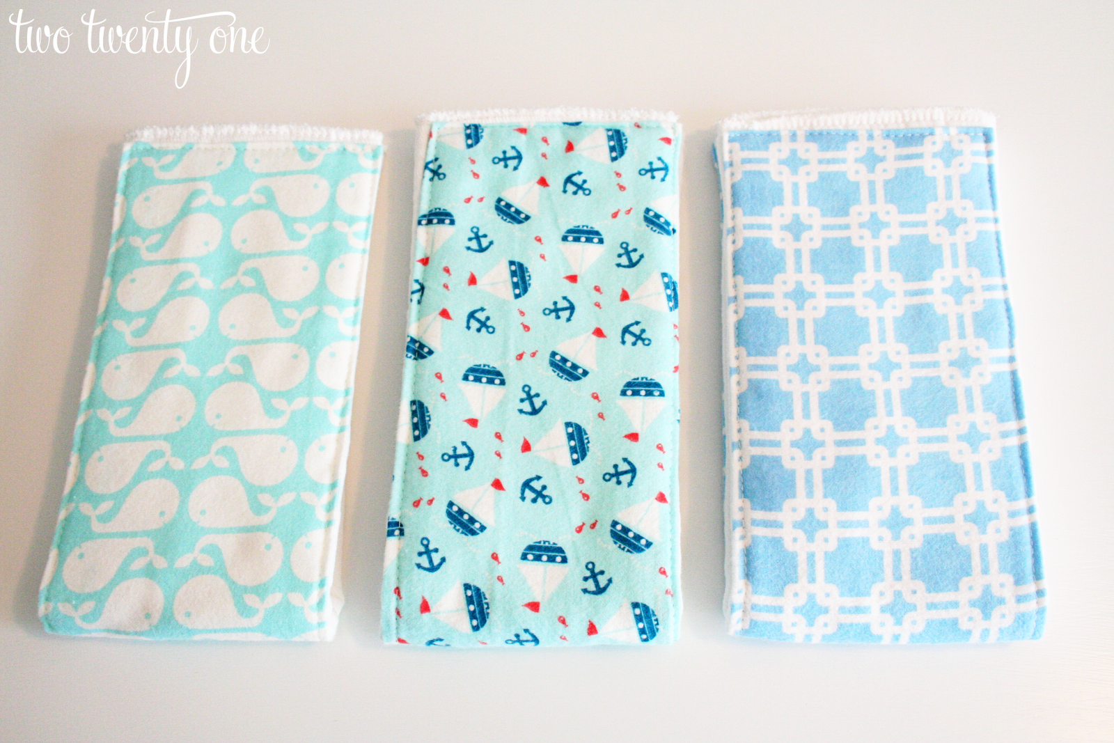 Pattern For Making Baby Burp Cloths