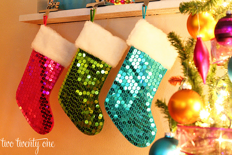 christmas decor part one our big christmas tree - Christmas Decorations For Stockings