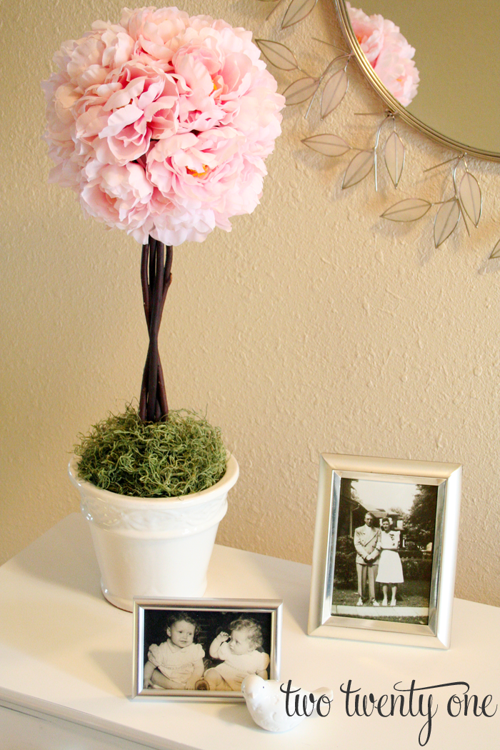 How To Make A Topiary Diy Two Twenty One